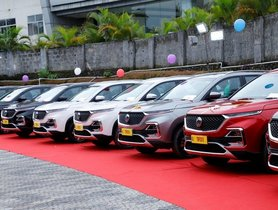 MG Hector Crosses 2,000 Units Monthly Sales Mark