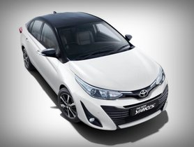 2019 Toyota Yaris Dual-tone Launched At Rs 8.65 Lakh