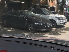 Mansoor Khan's Range Rover And Jaguar XF Rotting At Police Station