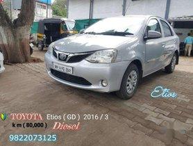 2016 Toyota Etios GDSP MT for sale