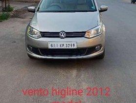 Volkswagen Vento Highline Diesel, 2012, MT for sale