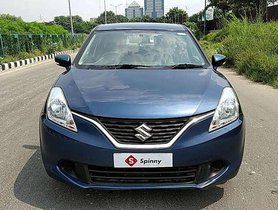 Maruti Suzuki Baleno, 2017, Petrol MT for sale
