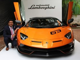 Check Out India's First Super-Exclusive Lamborghini Aventador SVJ 63