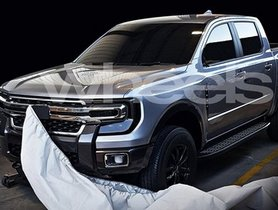 2021 Ford Endeavour Exterior Leaked, Looks Bold and Rugged