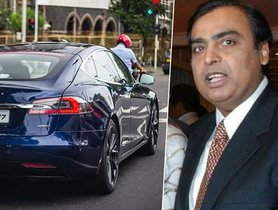 "Mukesh Ambani Adds A ""Second-Hand"" Tesla Model S To His Garage"