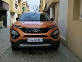 Barely Used Top-Spec Tata Harrier XZ Available With Huge Discount