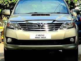 Toyota Fortuner 4x4 MT 2014 for sale