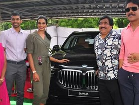 Badminton Champion PV Sindhu Is Gifted A BMW X5 By Actor Nagarjuna