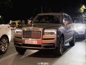 Ambani Family's Rolls Royce Cullinan Spotted For The First Time