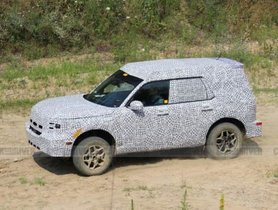Bodyshell of Ford's 'Baby Bronco' Revealed In New Spy Images
