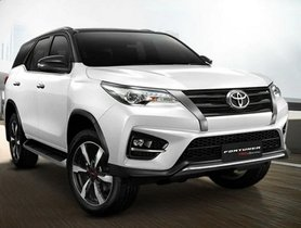 Toyota Fortuner TRD Edition Revealed In New Video