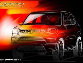Maruti S-Presso Teased Ahead of Launch on September 30