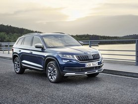 Skoda Kodiaq Scout India Launch On September 30