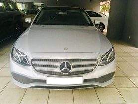 Used Mercedes Benz E-Class AT 2015-2017 car at low price