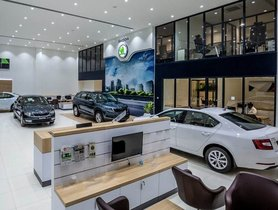 Skoda India Showrooms Receive Make-over