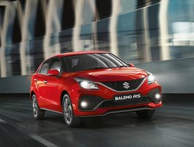 Maruti Baleno RS Discontinued Due to Poor Demand