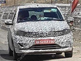Tata Tiago Facelift Spotted Testing Again