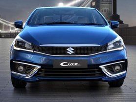Maruti Ciaz Sales Drop By 72.5 Per cent in September 2019