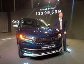 Skoda Kodiaq Scout launched for INR 33.99 Lacs