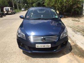 Used Maruti Suzuki Ciaz Alpha AT car at low price