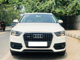 2013 Audi Q3 2.0 TDI AT for sale at low price