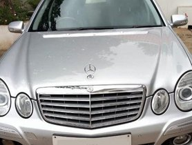 2007 Mercedes Benz E-Class AT 1993-2009 for sale