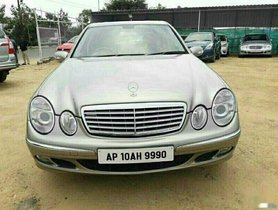 2006 Mercedes Benz E-Class AT 1993-2009 for sale