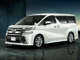 Toyota Vellfire To Launch In India This Month