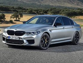 BMW M5 Competition Launched In India At INR 1.55 Crore