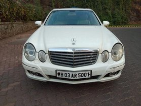 Used 2008 Mercedes Benz E-Class AT 1993-2009 for sale