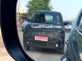 New Maruti XL5 Spied In Disguise, Expect Launch Details Very Soon