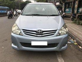 Used Toyota Innova 2.5 VX 7 STR BSIV 2011 MT for sale