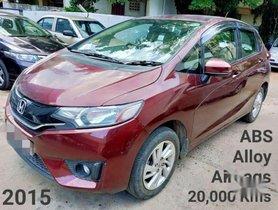 Honda Jazz V MT, 2015, Petrol for sale