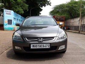 Honda Accord 2.4 Elegance MT, 2007, Petrol for sale