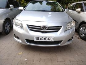 Used 2009 Toyota Corolla Altis 1.8 GL MT for sale