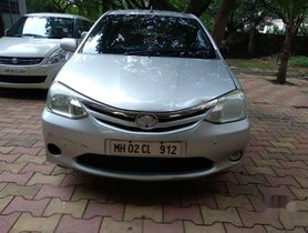 Toyota Etios G, 2012, CNG & Hybrids MT for sale