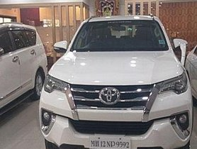 2017 Toyota Fortuner 4x4 AT for sale at low price