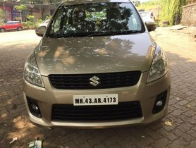 Used Maruti Suzuki Ertiga VXI CNG MT car at low price