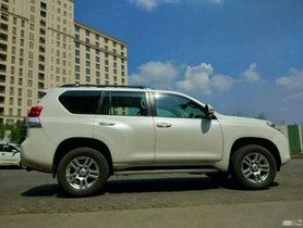 Used Toyota Land Cruiser AT car at low price