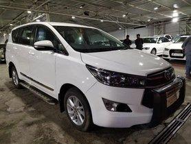 Used Toyota Innova Crysta 2.4 G MT 2017 for sale