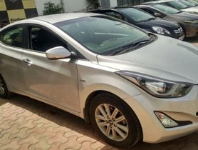 Used Hyundai Elantra AT car at low price