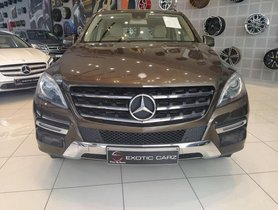 Mercedes Benz M Class ML 250 CDI AT 2015 for sale