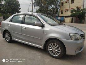 Used Toyota Etios VX MT car at low price