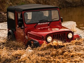 Watch How Mahindra Thar 4x4 Rescues A Giant Bharat Benz Truck