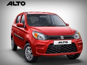 BSVI Compliant Maruti Alto Offers Rs 60,000 Discounts This October