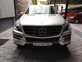 2012 Mercedes Benz M Class ML 350 4MAtic AT for sale