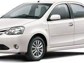 Used Toyota Etios V MT car at low price