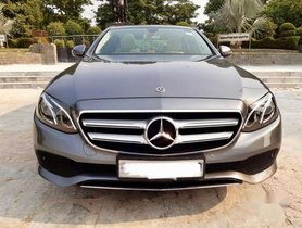2018 Mercedes Benz E Class AT for sale