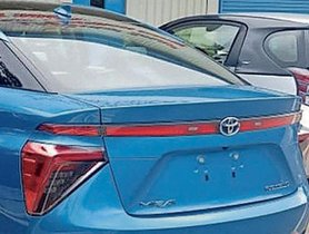 Toyota eQ EV Spotted At TKM's Bidadi Plant In Karnataka