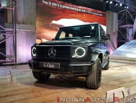 Mercedes-Benz G 350 D Launched At INR 1.5 Crore